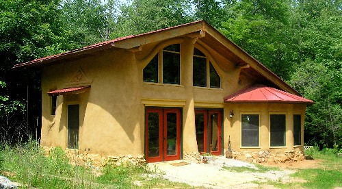 Natural Home Building : Earthaven ecovillage living in the future